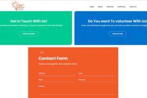 SSBC LLC Event Organizer Website Design 5