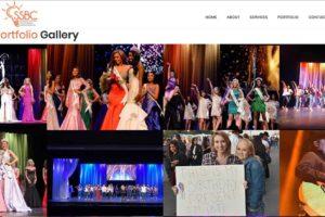 SSBC LLC Event Organizer Website Design 1