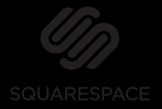 Squarespace Logo - Top website blogging builder comparison 2018